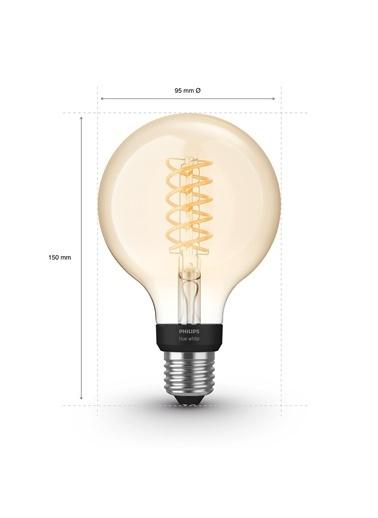 Philips Hue Filament G93 E27 Duylu Bluetooth Özellikli Sarı Işıklı Ampul Sarı